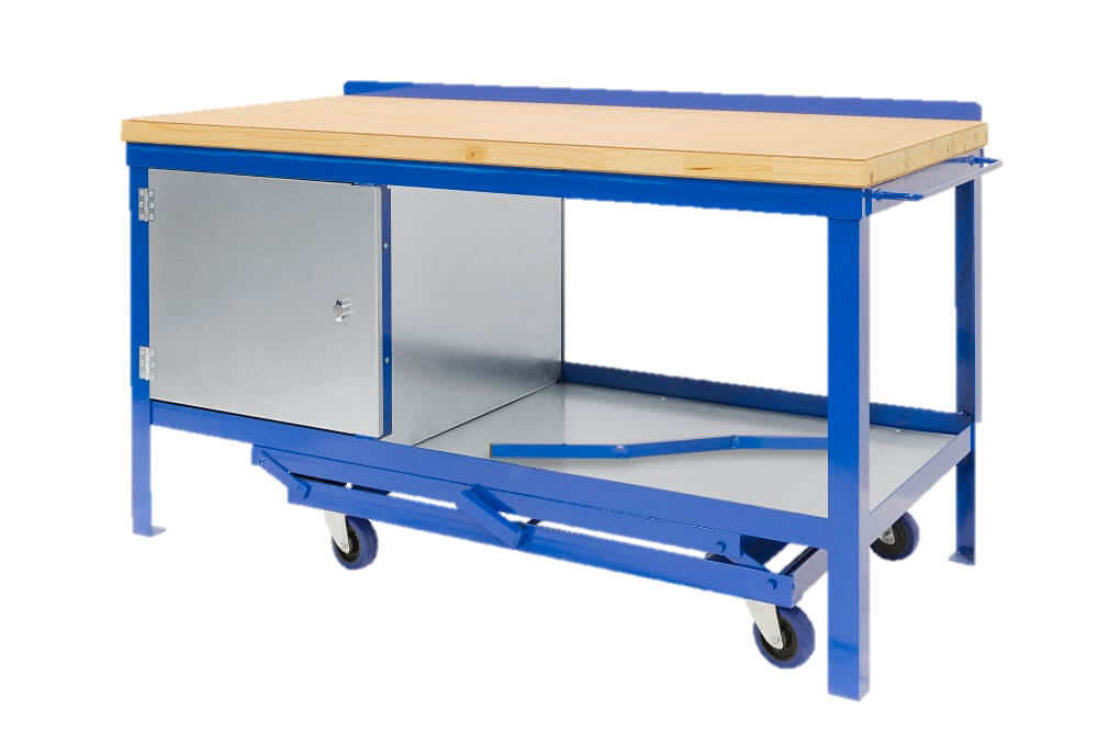 Wood_top_Mobile_Workbench_No_Background