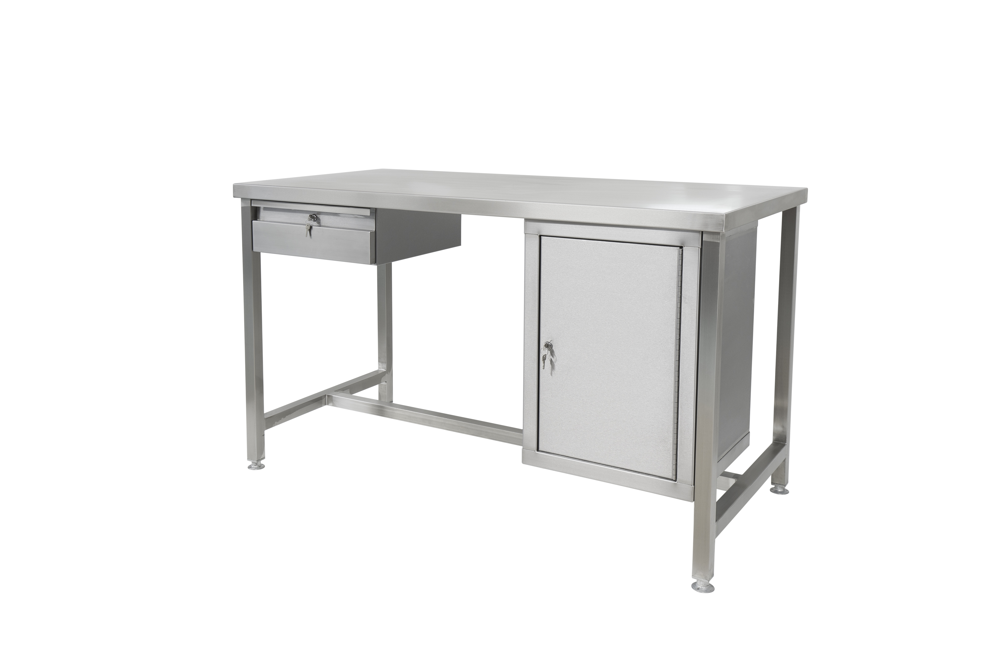 SS1575S_-_1500mm_x_750mm_SS_Workbench_with_drawer_and_cupboard