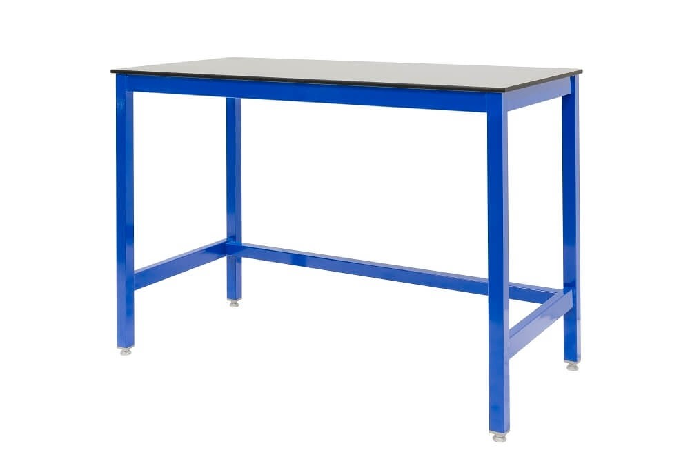 Compact top medium duty workbench