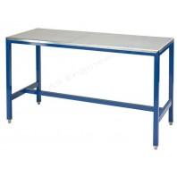 Steel top medium duty workbench