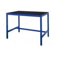 Black slip vinyl top medium duty workbench