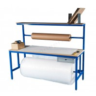 MDF top packing workbench