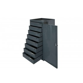 BMF - Cabinet with 8 drawer unit with lockable door - 457L x 457d x 915h mm