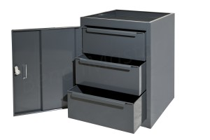 CUP3DMD - 3 Drawer Unit - 457L x 457d X 610h mm