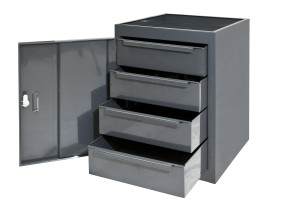 CUP4DMD - 4 Drawer Unit - 457L x 457d x  610h mm