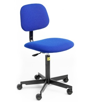 C60 - ESD Chair with castors 450-590mm height adjustment Castor