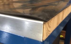 Rubber, Wood & Steel Top Super Heavy Duty Workbench