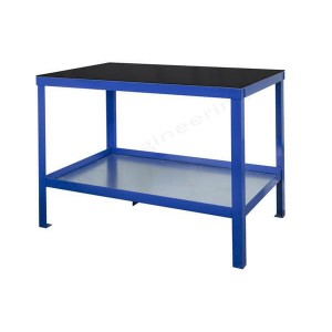 Black slip vinyl top heavy duty workbench