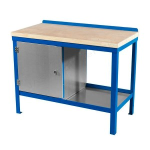 Wood top heavy duty workbench