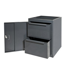 CUP2DMD - 2 Drawer Unit - 610h x 457w x 457d mm