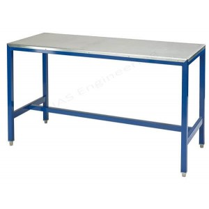 Steel top medium duty workbench