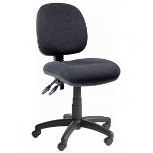 C140 - Fully Ergonomic office low chair  440-570mm height adjustment.
