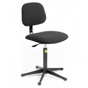 C50 - ESD Chair with feet 430-570mm height adjustment