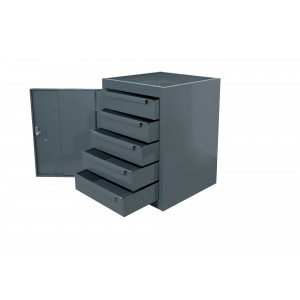 CUP5DMD - 5 Drawer Unit - 610h x 457w x 457d mm